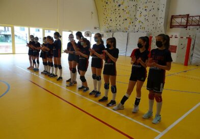 Under 13: le fotografie del match fra Rotal Volley ed Us Lavis Rossa